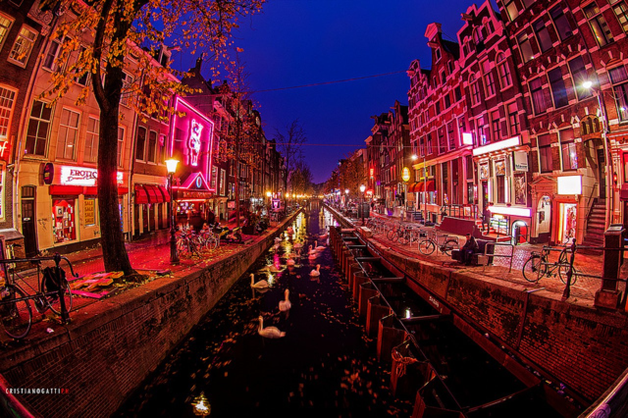 image Red light district amsterdam young prostitute